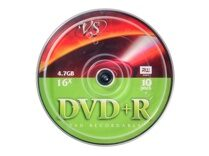 "Диск DVD+R VS"" 4.7 GB 16x CB/10"